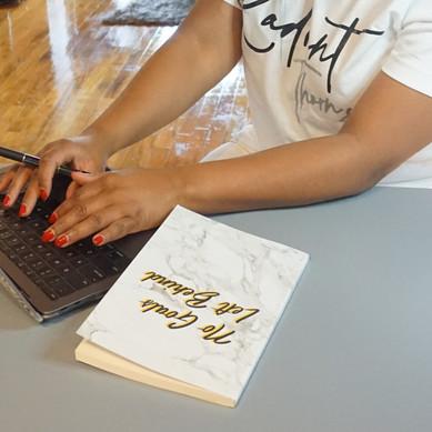 Opulent Edition journal - white