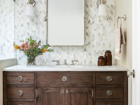 Classic traditional Master Bathroom