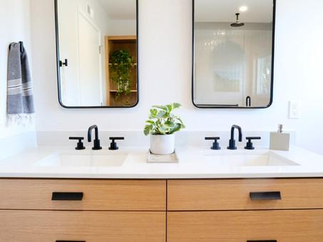 Modern Texture Bathroom in San Jose