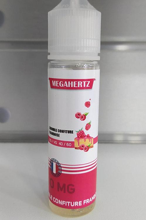 Megahertz - CRUMBLE CONFITURE FRAMBOISE - 50ML
