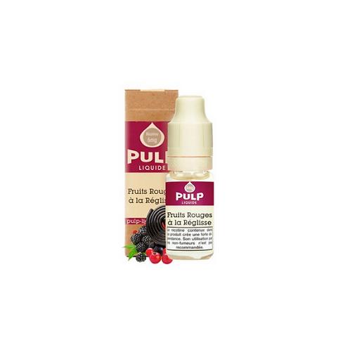 Pulp - FRUITS ROUGES A LA REGLISSE-10ML