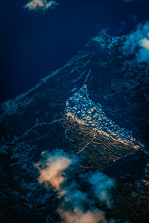 Malta from the plane