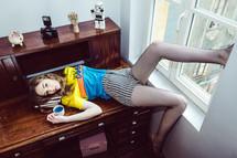 ©Vincentremyphoto Model : Letizia H @Modinlux Agency Make-up & Hair : Justine Chery - Make up Artist Stylism : Floriane Del Frate
