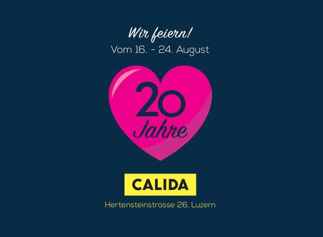 20 Jahre CALIDA Store, Hertensteinstrasse Luzern!