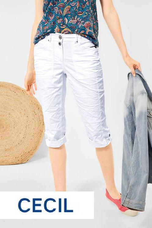 3/4 Sommer Hose white