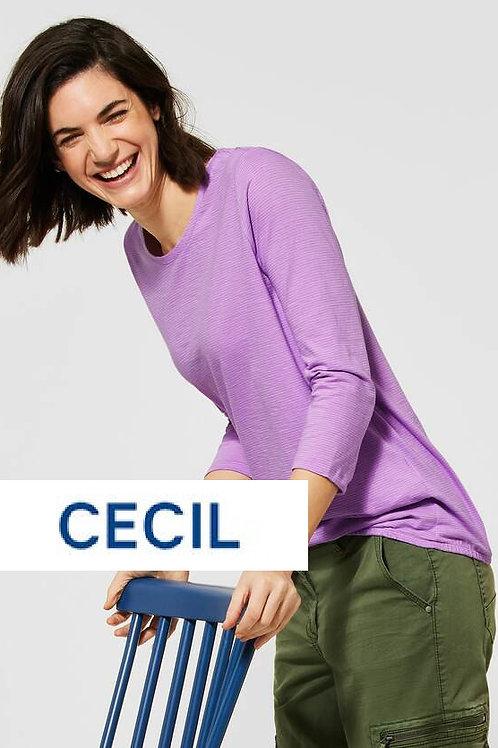 3/4 - arm Shirt lila