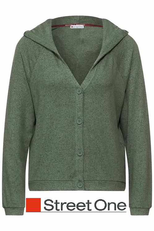 Hoody Jacket dunkelgrün