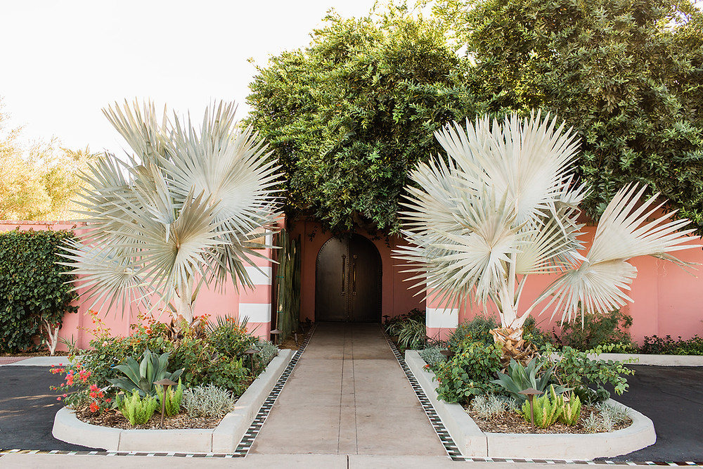 Modern Moroccan Desert Glam Editorial - LGBTQ Wedding Editoiral - Wedding Design Inspiration - Muted Desert Tones - Modern Glam Jungle Chic