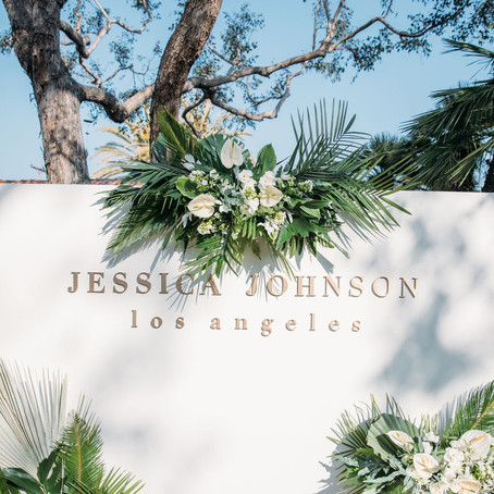 Chic Tropical Vibes at the Jessica Johnson Store Opening