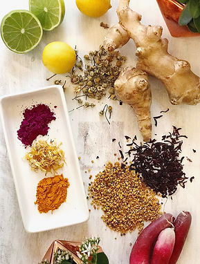 Styled Spices and Ingredients