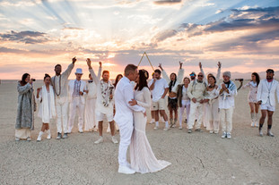 Grace + Woo - Burning Man Wedding
