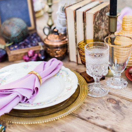 Thinking Outside the Box: Dinner Party Décor with an Unconventional Approach