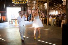 Josh + Carissa - Wedding at a bar in Salinas