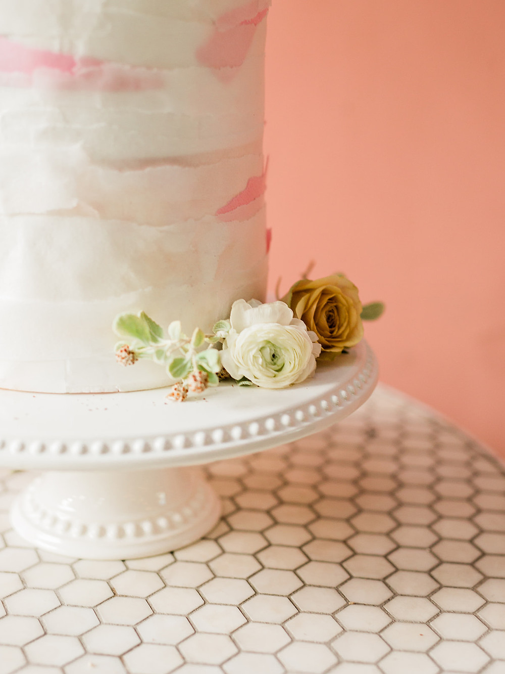 cake design - Modern Moroccan Desert Glam Editorial - LGBTQ Wedding Editoiral - Wedding Design Inspiration - Muted Desert Tones - Modern Glam Jungle Chic
