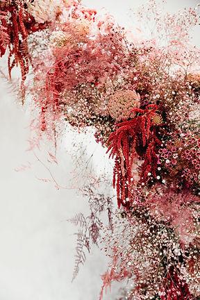 Monochromatic Floral Sculpture