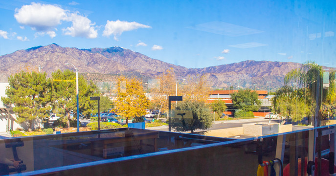 San Gabriel Mountain View