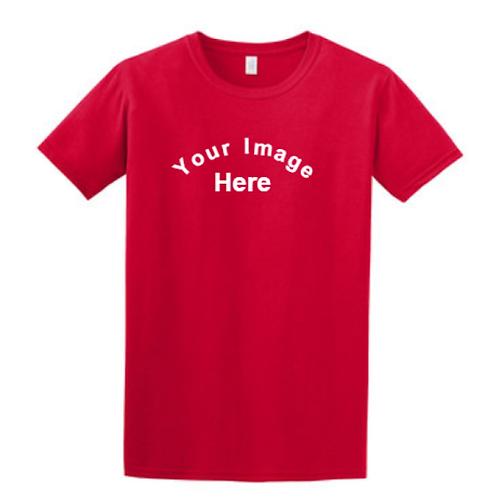 Adult 100% Ring Spun Cotton Softstyle t-shirt