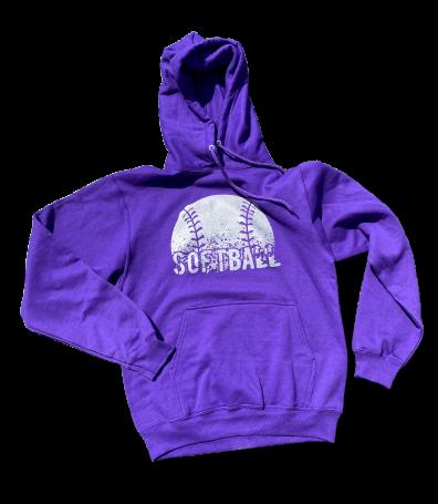 Softball Splatter Sweatshirt