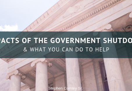 IMPACTS OF THE GOVERNMENT SHUTDOWN & WHAT YOU CAN DO TO HELP
