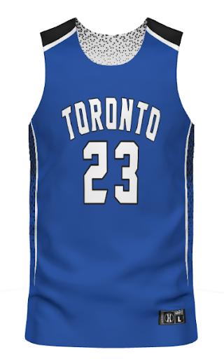 Custom Sublimated Reversible Basketball Jersey