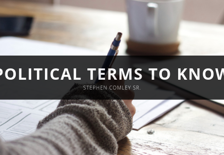 POLITICAL TERMS TO KNOW