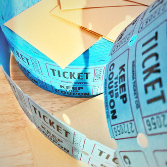 Virtual event ticket fun.
