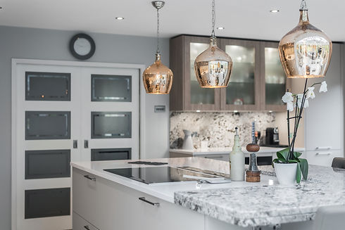 Fornia Build Kitchen Interior Luxury Lighting Fit