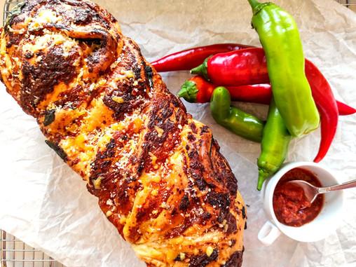 לחם צ'דר וצ'ילי אקזוטי