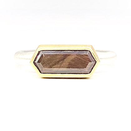 Chocolate Sapphire Ring