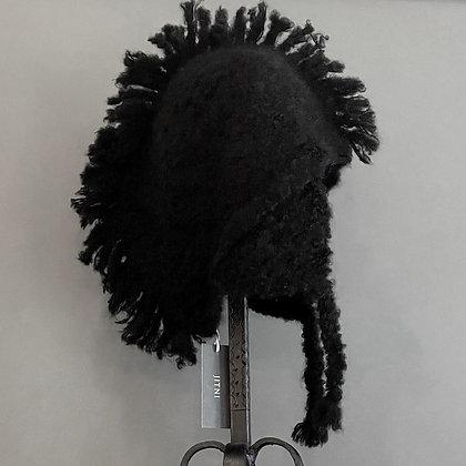 Alpaca Wool Mohawk Hat by Jitni