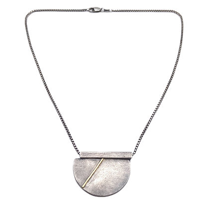 Half Circle Bar Necklace