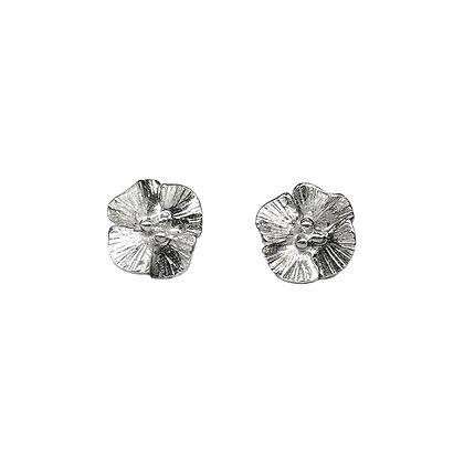 Poppy Blossom Post Earrings