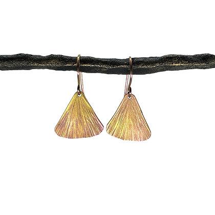 Small Fin Earrings by Amie Plante