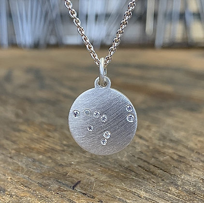 CAPRICORN (Dec 22 - Jan 20) Diamond Constellation Necklace