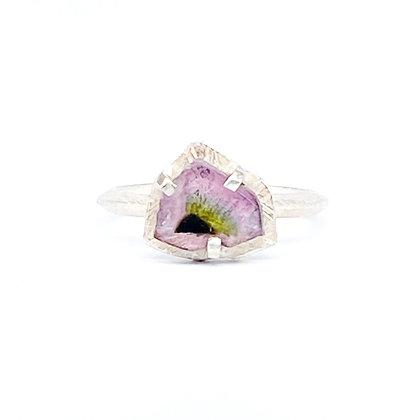 Sliced Tourmaline Ring
