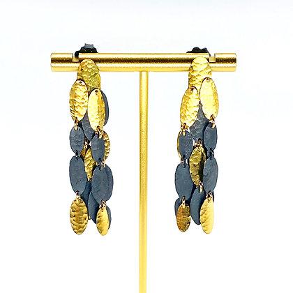 Golden Shield Earrings