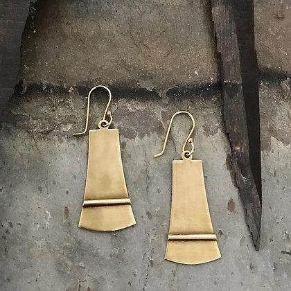 Axe Earrings by Tiny Anvil