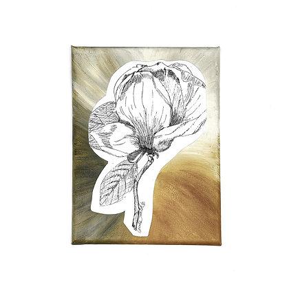 Magnolia Blossom ArtworkbyCarolineTacker & Kymrie Designs