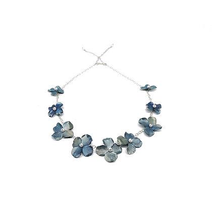 Hydrangea Blossom Necklace