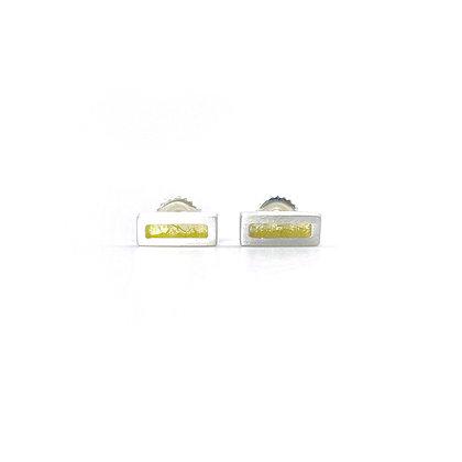Bar Bridge Post Earrings by Heather Guidero