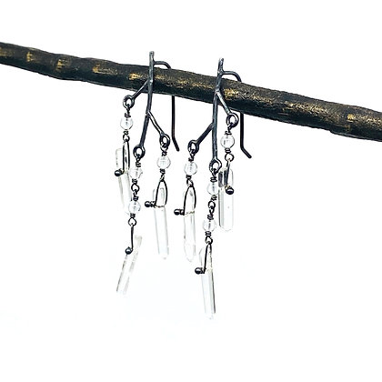 Dangle Icicle Earrings