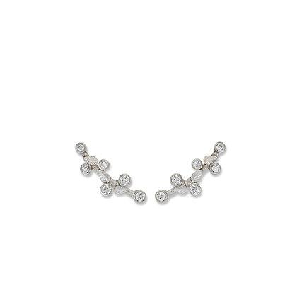 Laurier Diamond Ear Cuff Post Earrings by Lika Behar Collection