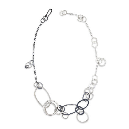 Loopy Loopy Links Necklace by Melle Finelli