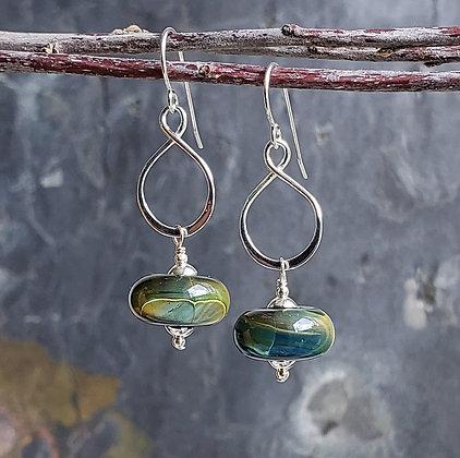 Eternity Earrings by Caitlin Burch