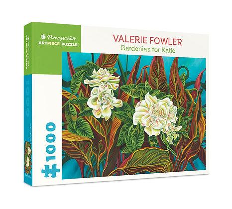 Valerie Fowler: Gardenias for Katie 1000-Piece Jigsaw Puzzle