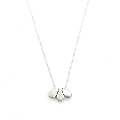 3- Drops Pendant Necklace by Philippa Roberts