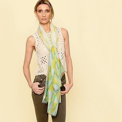 Tiles Scarf ~ Cactus ~ by Lua