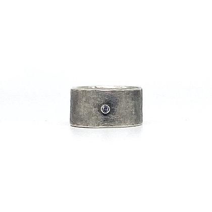 Grey Spinel Ring by Chrissy Liu