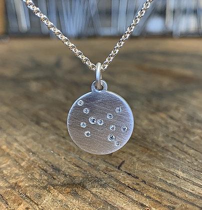 SAGITTARIUS (Nov22 - Dec21) Diamond Constellation Necklace