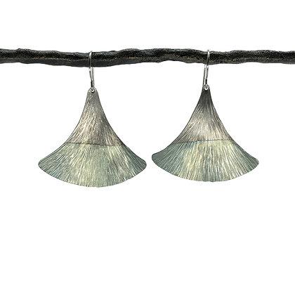 Large Fin Earrings by Amie Plante